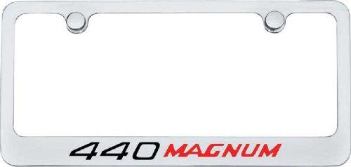 440 Magnum License Plate Frame