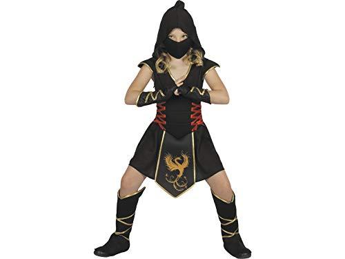 JUGUETILANDIA Disfraz Ninja Niña Talla L: Amazon.es ...