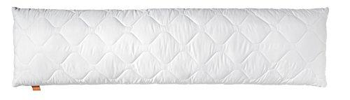 sleepling Comfort 190110 Oreiller pour dormeurs de Côté, Microfibre 40 x 145 cm, Blanc