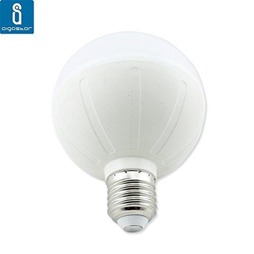 Bombilla led e27 de 18w aigostar tipo globo luz fr a for Tipos de bombillas led para casa