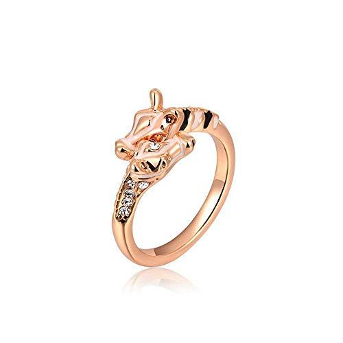 Wishbone Rings Gold (kaige Ring Ladies Ring Rose Gold Giraffe Ring)