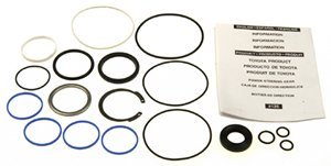 Pinion Shaft Seal - ACDelco 36-348431 Professional Steering Gear Pinion Shaft Seal Kit with Bearing, Seals, and Snap Ring