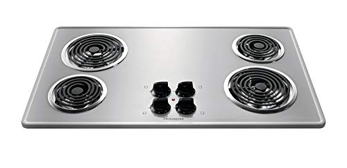 Frigidaire Stainless Steel 36' 36 Inch Coil Top Electric Cooktop Stovetop FFEC3605LS