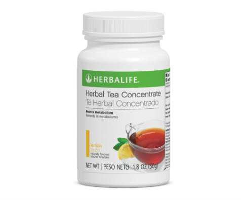 Herbalife Tea Concentrate Lemon Flavor 1.8oz