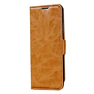 GHK - Luxury Case Wallet Leather Case for Samsung Galaxy Note 3 , Yellow
