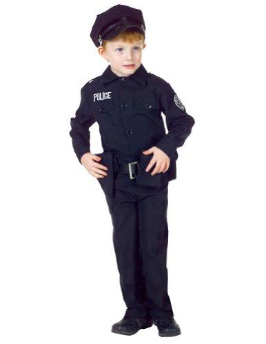 [Morris Policeman Set, Small (4-6 Months)] (Policeman Boys Costume)
