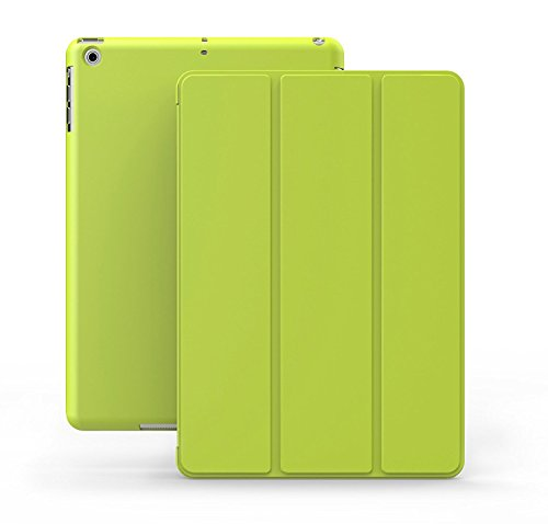 - KHOMO iPad Mini 1 2 3 Case - Dual Series - Ultra Slim Green Cover with Auto Sleep Wake Feature for Apple iPad Mini 1st, 2nd and 3rd Generation