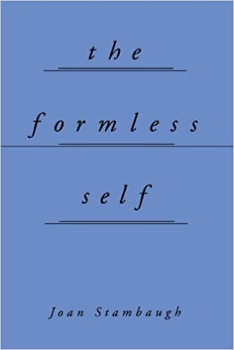 Book The Formless Self by Joan Stambaugh (1999-05-06)