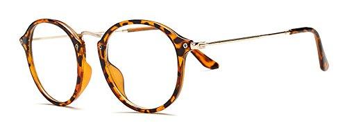 Print estilo Gafas de cristales retro Outray redondos Leapord H0qnC0