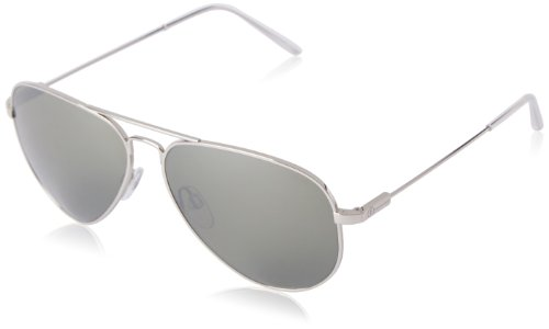 Electric Visual AV1 Large Platinum Aviator - Italy West Sunglasses
