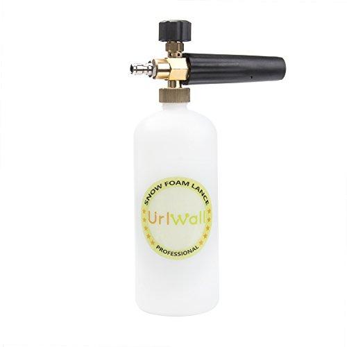 Adjustable Foam Cannon, URLWALL 1 Liter Car Wash Pressure Bottle Snow Foam Lance With 1/4 Quick Connector Foam Blaster for Pressure Washer Gun by URLWALL (Image #7)