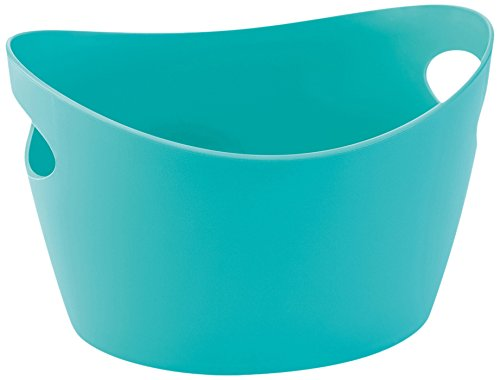 Bottichelli Washtub L Solid BLACK Solid Turquoise qdb5c