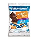 Weight Watchers English Toffee Squares 3.25 oz. Bag