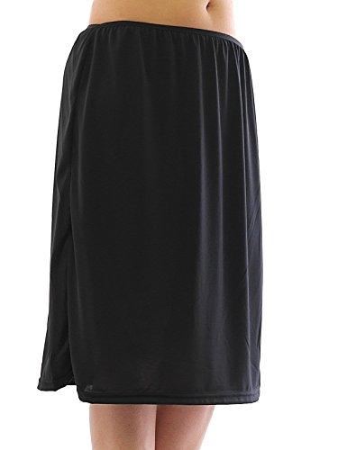 MAXI JUPON bande en caoutchouc effet froiss jupe jupe maxi Noir