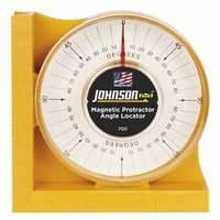 Johnson Level 282-700 Magnetic Protractor Angle Locator44; 0 - 90 Degrees44; Inch44; Metric And Graduations