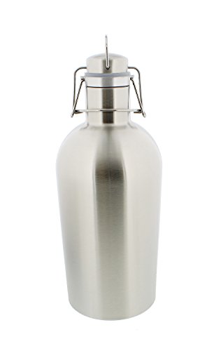 Beer Growler Stainless Swing Top Homebrew product image