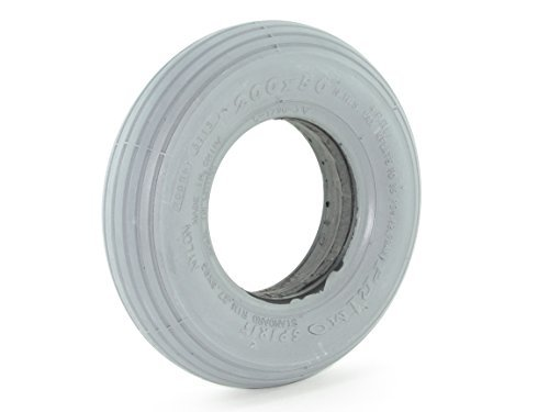 (200 x 50 Solid Foam-Filled Tire - Ribbed Tread - Primo Spirit)