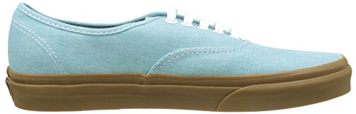 Vans Herren UA Authentic Sneakers Blau (Washed Canvas)