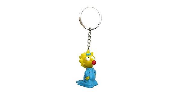 Amazon.com: Fox The Simpsons Maggie 3d pvc llavero: Toys & Games