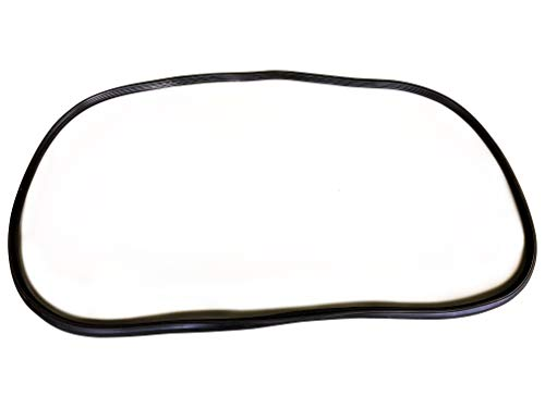 MAPM - Front Windshield Gasket Seal Rubber 76-86 Jeep CJ Series FOR 1976-1986 Jeep ()