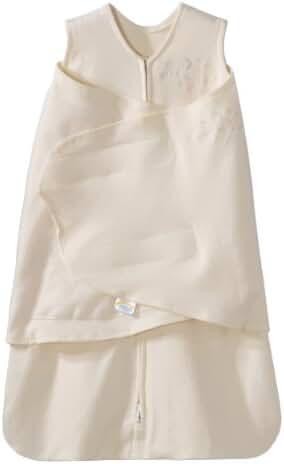 HALO SleepSack 100% Cotton Swaddle, Cream, Newborn