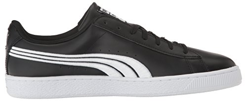 Basket Men's Black Sneaker Fashion Puma Badge Classic puma Silv Puma 5Fwq5