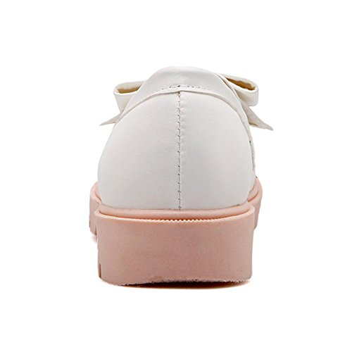 FizaiZifai On Slip Shoes White Women Pumps 1CrCWHwTn