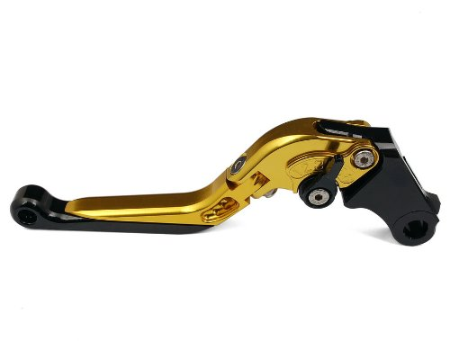 One Piece Foldable Adjustable Style OEM Racing Motorcycle Brake Lever Gold Fit For BENELLI TNT R160 2010- F-11