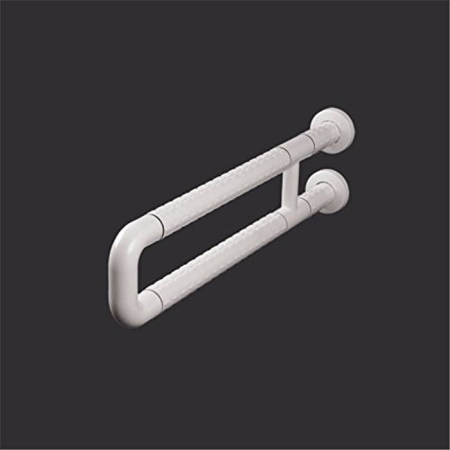 MDRW-Bathroom Handrail The Bathrooms Are U-Elderly Persons With Disabilities Security Barrier-Free Nylon Armrest. White by Olici