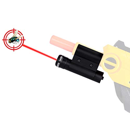 Cenda Laser Sight Salt Gun 2.0 Accessories of Bug Assault for Killing Flies, Fits All Versions of Insect Airsoft BB Pump (Bug And Salt Gun)