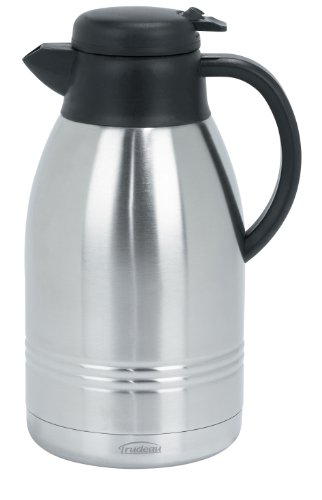 (Trudeau Lyra 68-Ounce Stainless Steel Carafe)