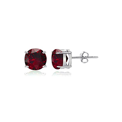 4mm Round Stud Earrings - 2