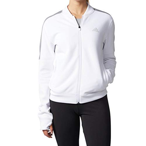 White Team Issue - adidas Team Issue Jacket (Womens) (M, White/Grey)