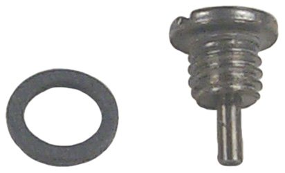 Lower Gear Case Seal - Sierra 18-2375 Drain Plug (Magnet)