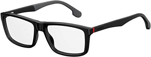 Carrera Plastic Rectangular Eyeglasses 56 0807 Black