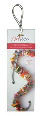 Fire Wire Stainless Steel Flexible Grilling Skewer, Set of ()