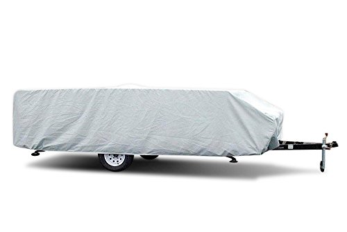 Pop-Up Folding Camper RV Cover by Carver (14'-16') -