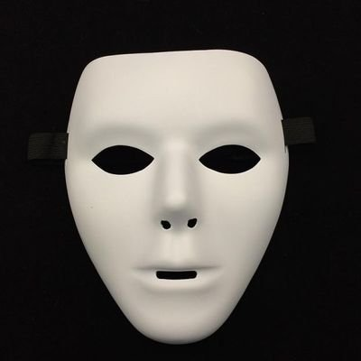 [Fashion Cosplay for Halloween Masquerade Carnival Party Prom Carnival Mask (Good Quality White)] (Half Doll Half Zombie Costume)
