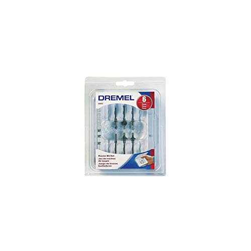 - Dremel 692 6-Piece Router Bit Set