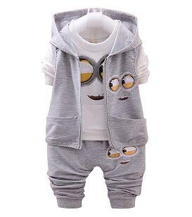 76fecb3824a0 Amazon.com  Best Quality - Clothing Sets - Kids Clothes Minions Baby ...