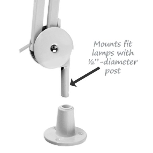 Magnifier Lamp Work Light Mounting Bracket Clamp