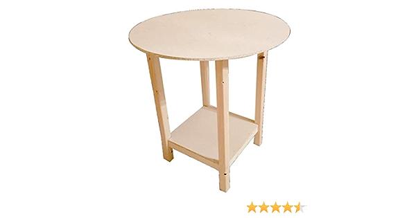 Mesa camilla Eco redonda 80 cm: Amazon.es: Hogar