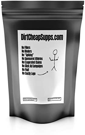 DirtCheapSupps Whey Protein Isolate Unflavored 2lb.