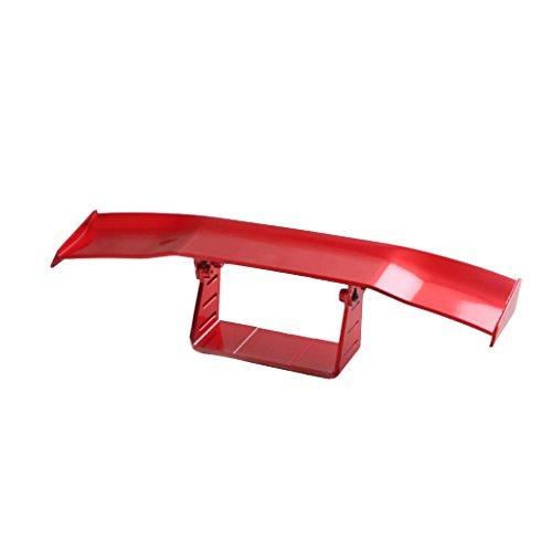 Baoblaze Mini Alerón Empenaje de Cola para Autos Coches SUV Camiones - Rojo