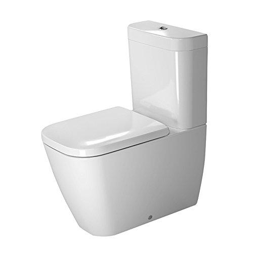 Vario White (Duravit 2134090092 Toilet Close-C. 630Mm Happy D.2 White, Wd, Vario Outl., Btw, Us Toilet Close-C. 630Mm Happy D.2 Wd, Vario Outl., Btw, Us)