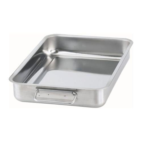 IKEA KONCIS 900.990.54 - Roasting tin, stainless steel - 34x24 cm TRTAZ11A