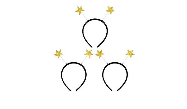 Holibanna 3 Piezas Estrella Cabeza Boppers Novedad Diadema ...