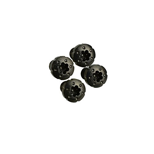 1911 Torx Grip Screws with Black Zinc Coating x4 pcs by Strike Industries