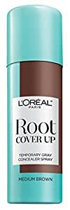 Loreal Root Cover Up Spray Medium Brown 2oz (3 Pack)
