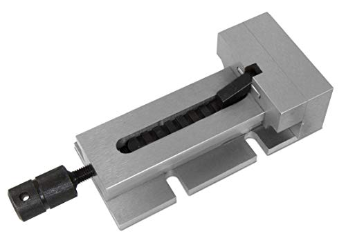 WEN 33124A 3.5-Inch Quick-Release Vise for Milling Machines, Drill Presses and Workbenches by WEN (Image #2)